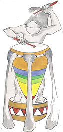 Dibujo tambor PerkImBa Kids