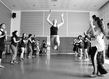 Juliette Louste Improvisación en cursos de PerkImBa Formación