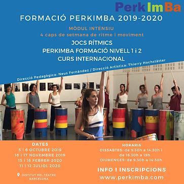 Post Instagram i Facebook Formación PerkimBa 2019