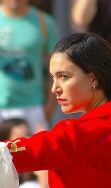 Ilona Muñoz. Actriz y artista de PerkImBa Cia