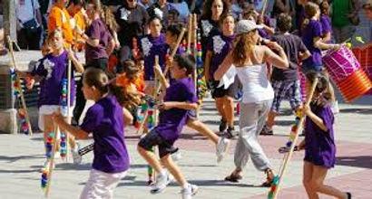 taller ritmo y movimiento con perkimba . Perkimba kids en UTEM Valencia