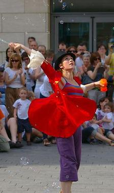 Juliette Louste. Bailarina y artista de PerkImBa Cia