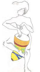 Dibujo tambor colores PerkImBa