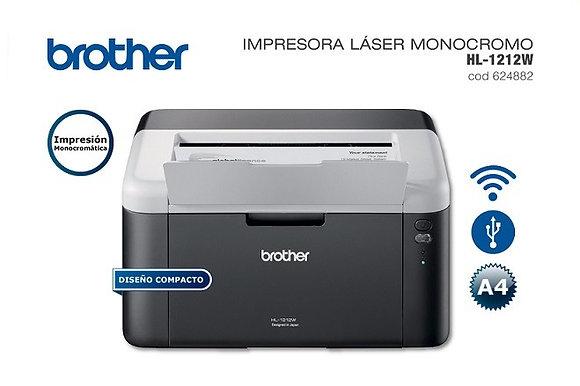 Impresora Láser Brother L1212W + Tonner Original