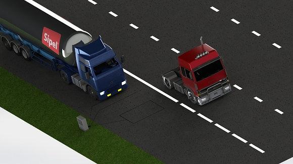Pesaje dinámico vehicular HS-WIM