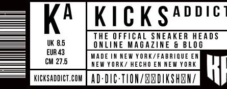 SNEAKERASERS FEATURED ON KICKSADDICT