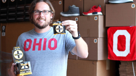 SNEAKERASERS FEATURED ON FRONT PAGE OF THE COLUMBUS DISPATCH
