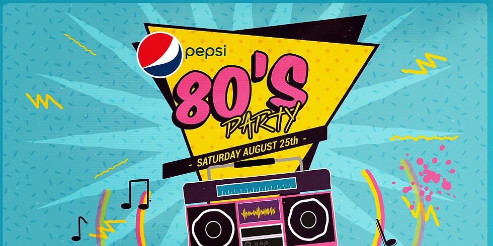 Pepsi/WTWO 80's Party