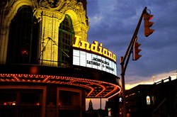 Indiana Theatre night