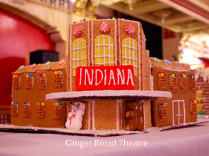 Indiana Theatre Ginger Brread