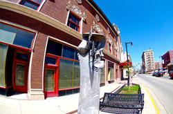 Indiana Theatre sculpture