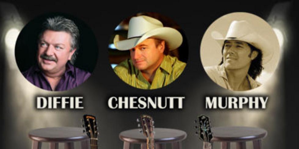 Barstools & Guitars Featuring Joe Diffie, Mark Chesnutt, & David Lee Murphy