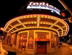 Sinatra Signage Indiana Theatre