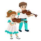 boy-girl-playing-violin-vector-illustrat