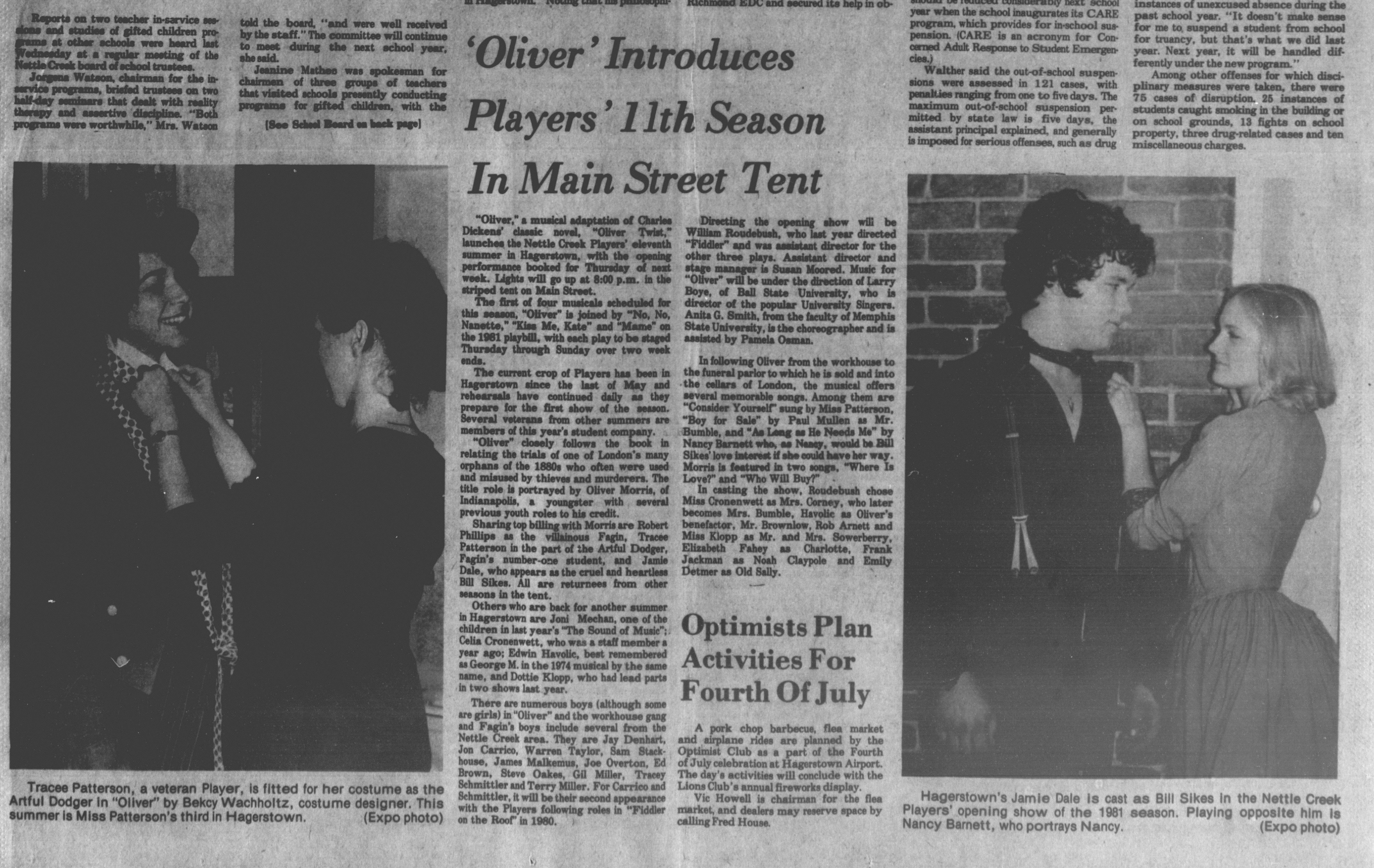 June 1981 Oliver