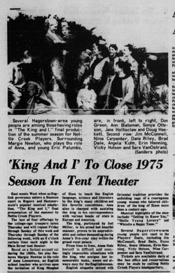 August 1975 King and I
