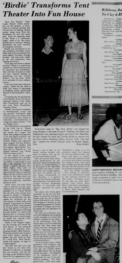 July 1978 Bye Bye Birdie Review