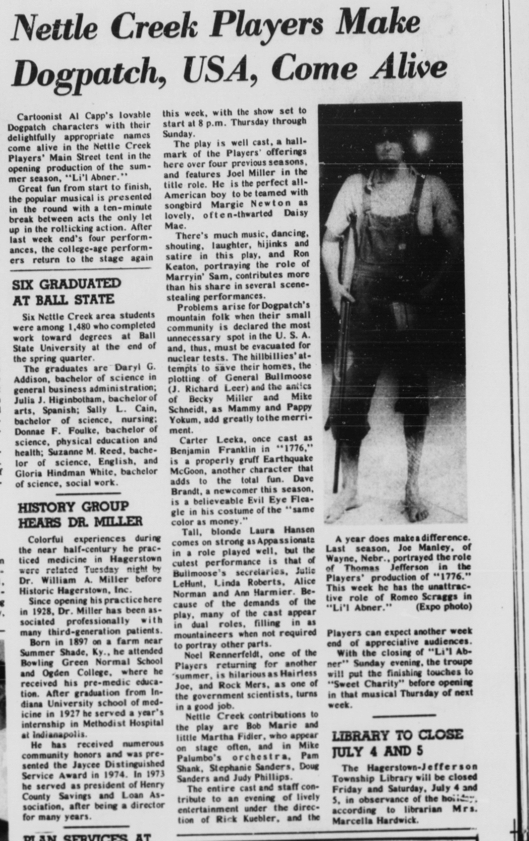 June 1975 Lil Abner Review