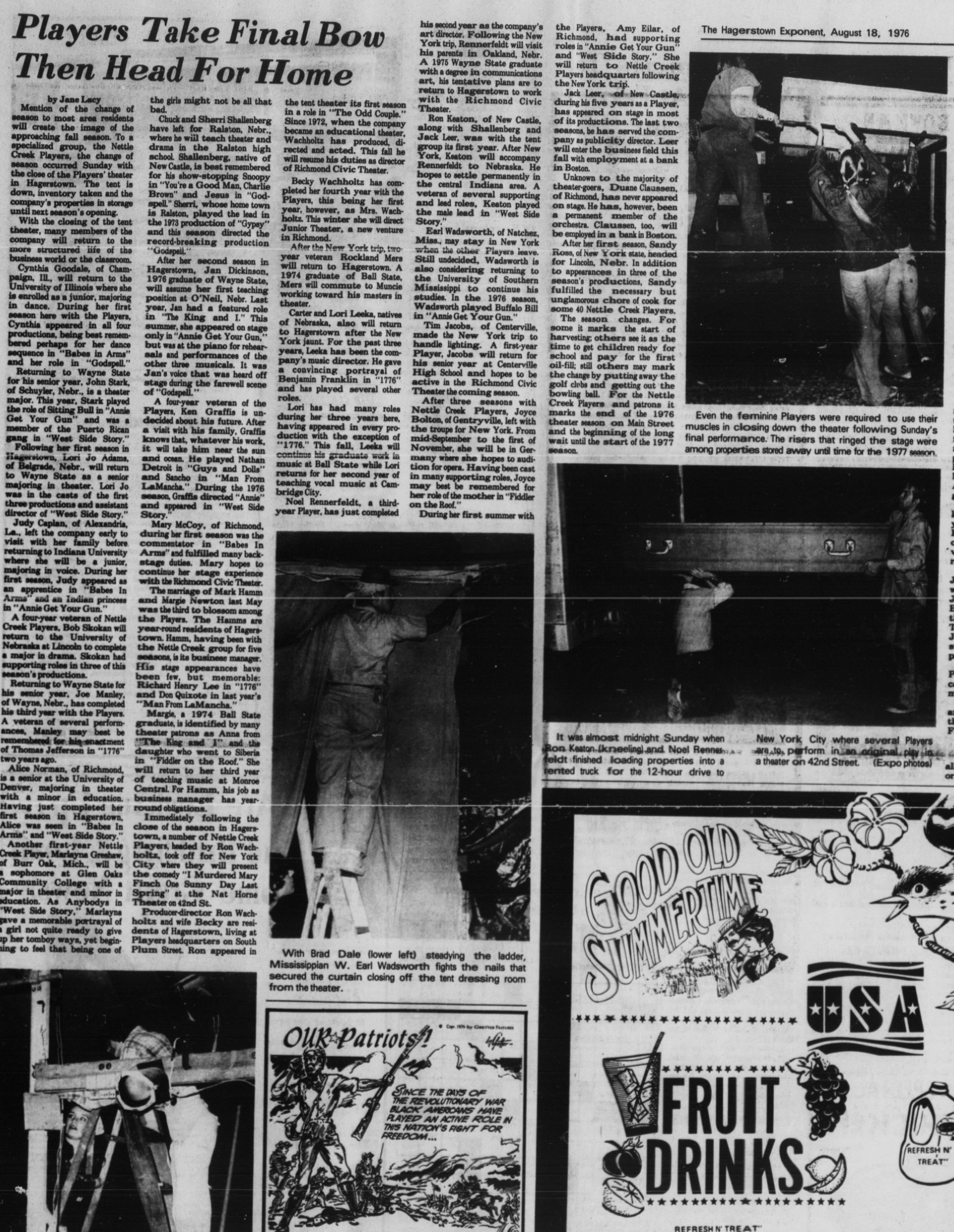 August 1976 Closing