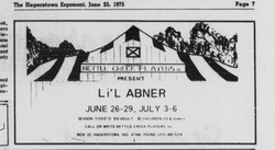 June 1975 Lil Abner Ad