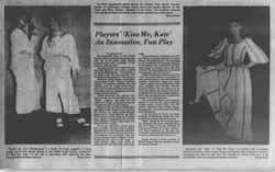 July 1981 Kiss Me Kate REview