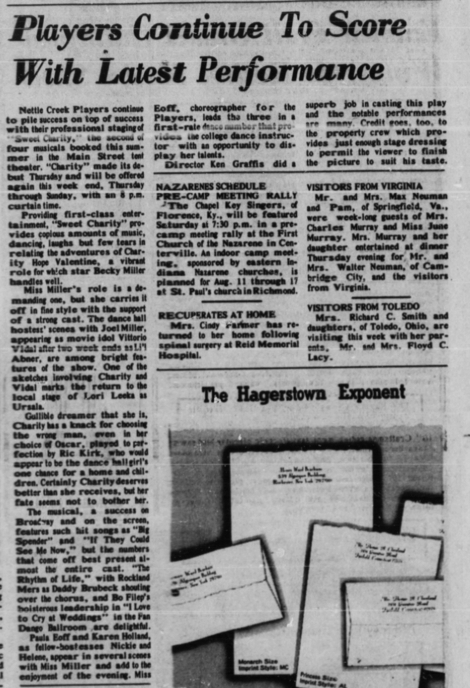 July 1975 Seeet Charity Review