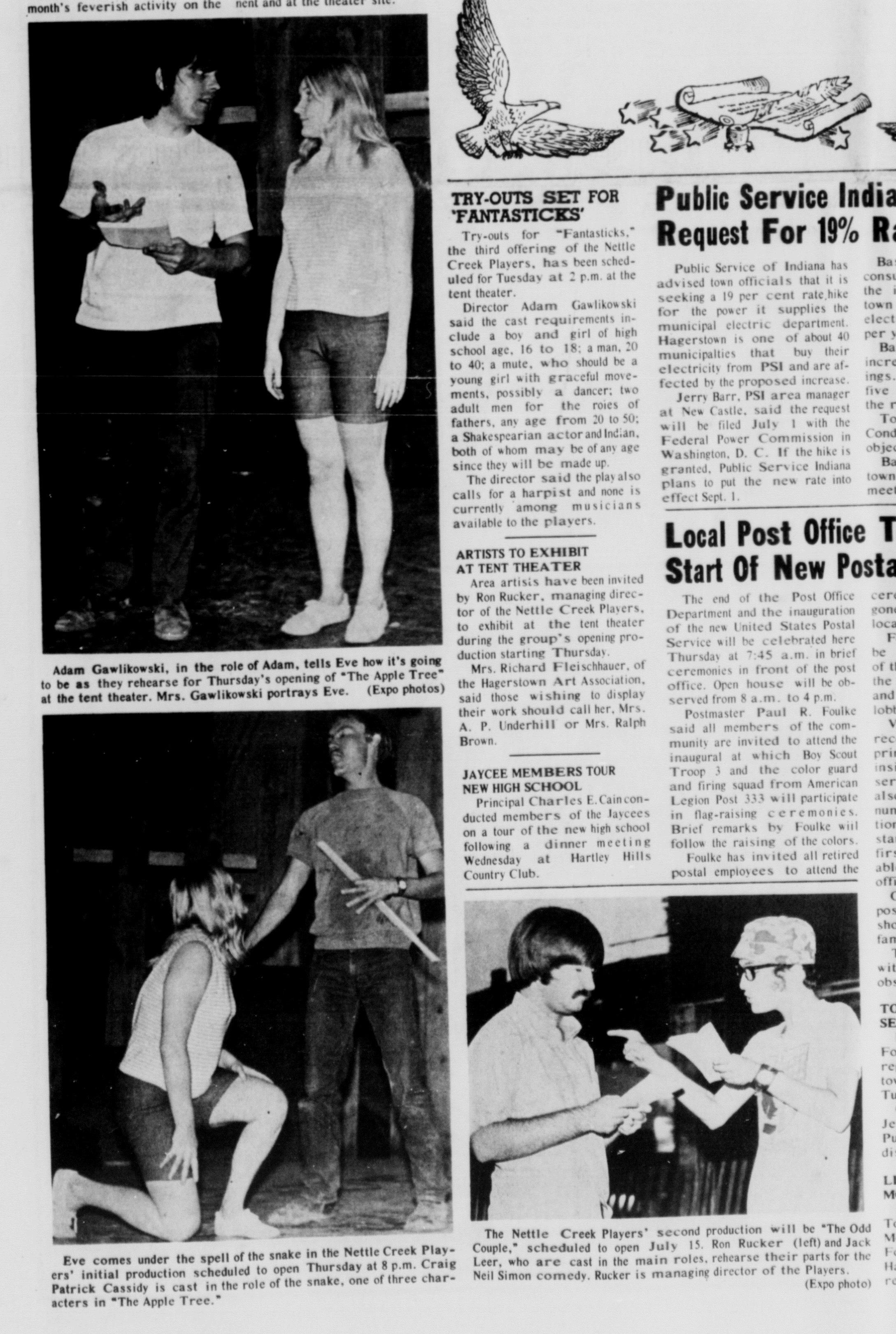 June 1971 Opening Pics
