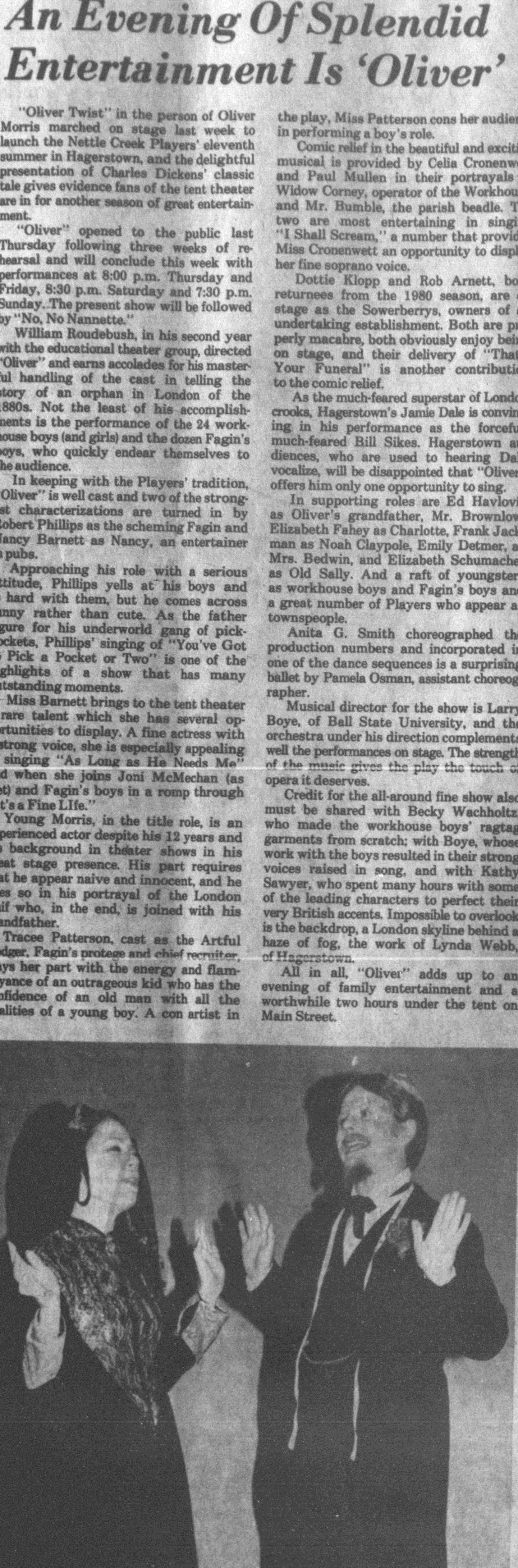June 1981 Oliver Review