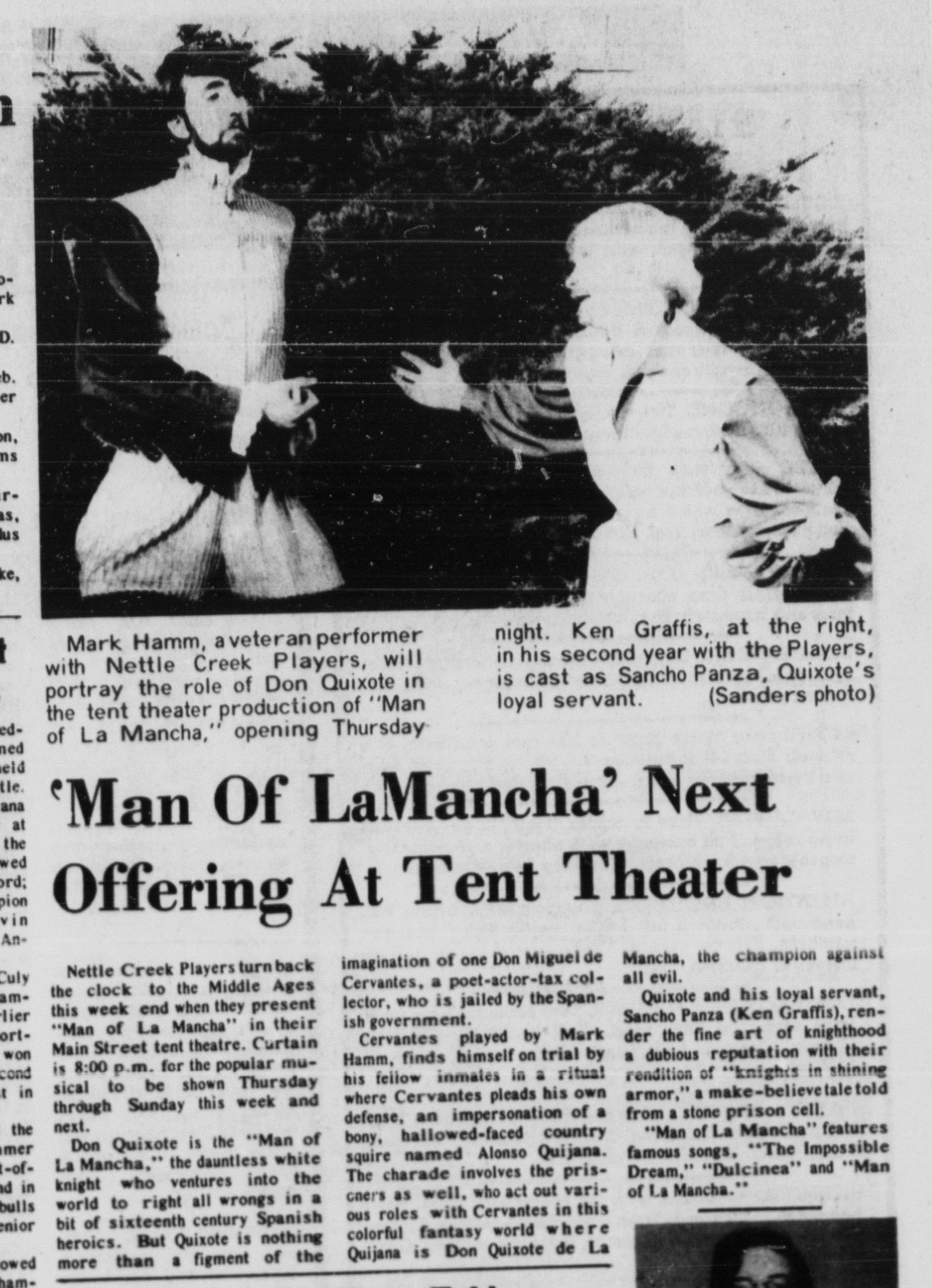 August 1975 La Mancha