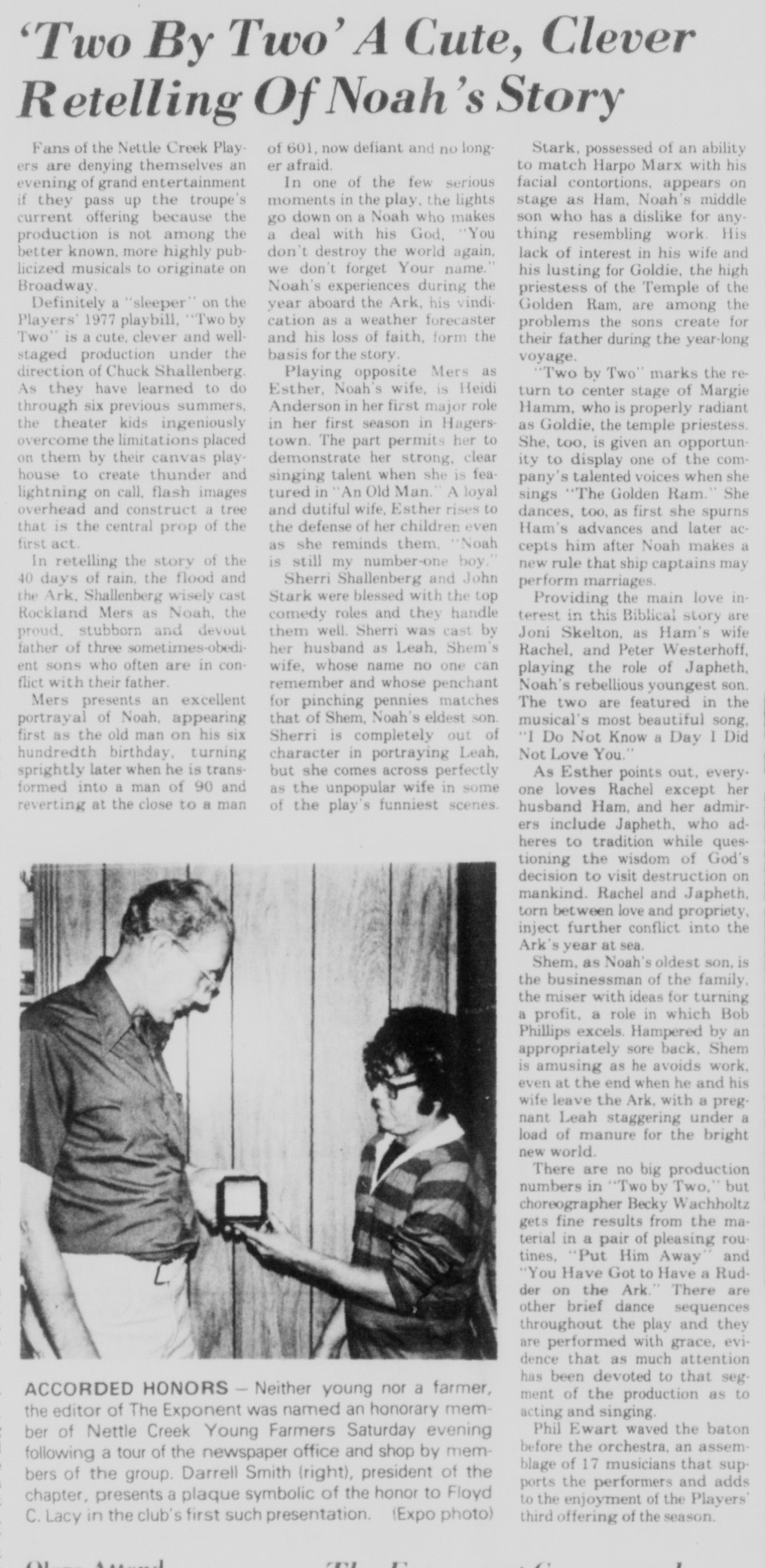 July 1977 Two By Two Review