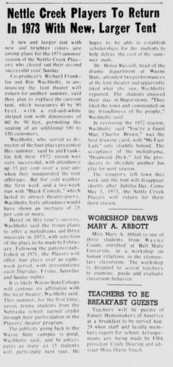 August 1972 Closing