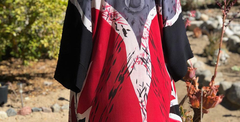 Red & Black Twigs Jacket