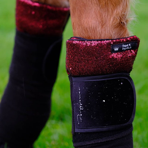 Royal H bandaging pads | Reversible sequins | in three color combinations