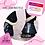 """Thumbnail: """"Midnight Bling"""" bell boots   3D mesh   super strong  """