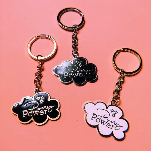 Emaille Schlüsselanhänger | 3 Farben | Ponypower