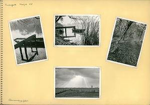 Fotoalbum blad uit 1958