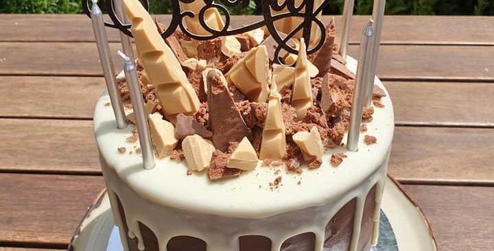 TALL LOADED DRIP CAKE