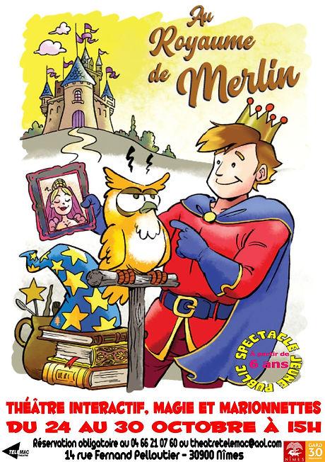 Affiche Au royaume de Merlin.jpg