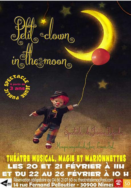 Affiche Petit clown in the moon.jpg