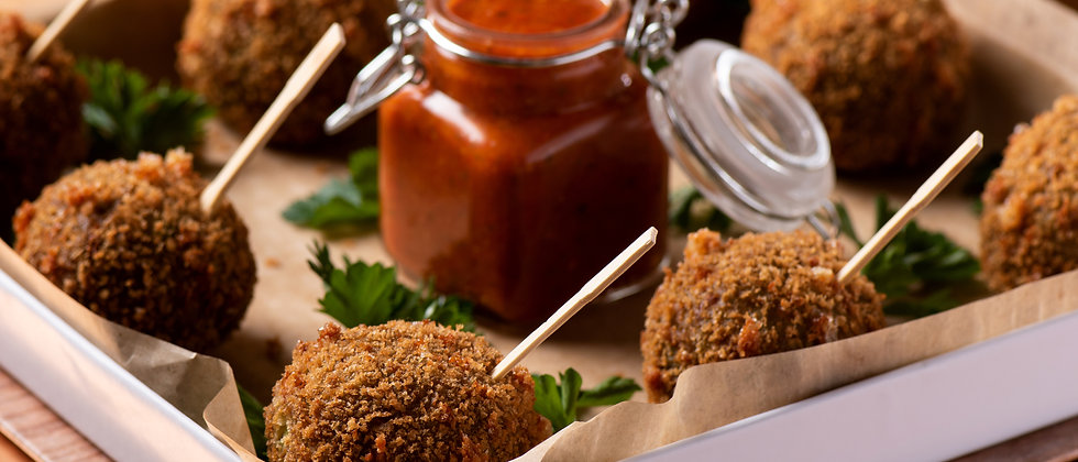 Cheesey Boulettes