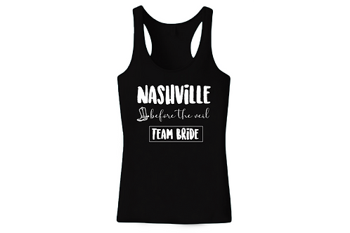Nashville before the veil Team Bride