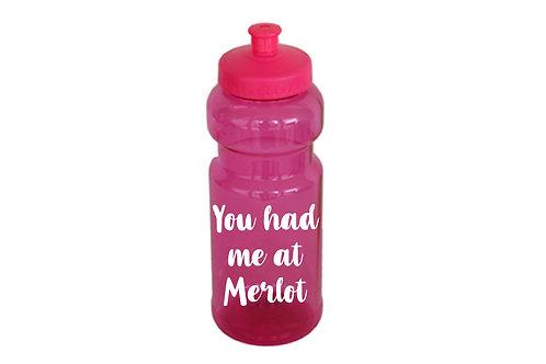 You had me at Merlot