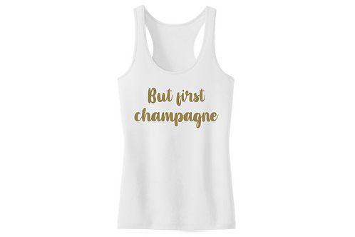 But first champagne