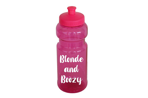 Blonde and Boozy