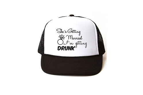 She´s getting married I´m getting drunk