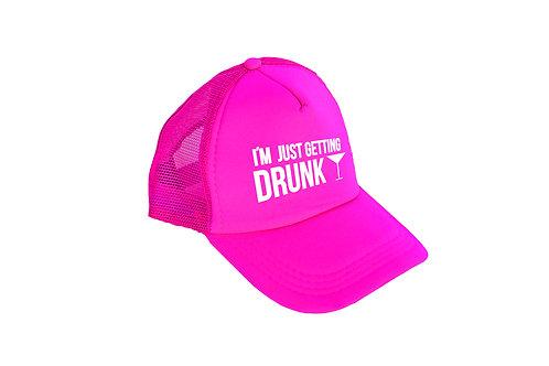I'm just getting drunk