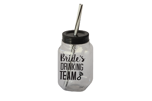 Bride´s drinking team