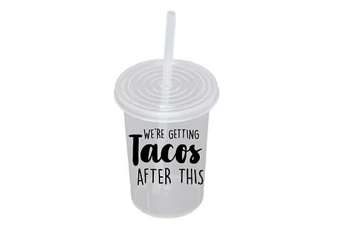 We´re getting tacos after this