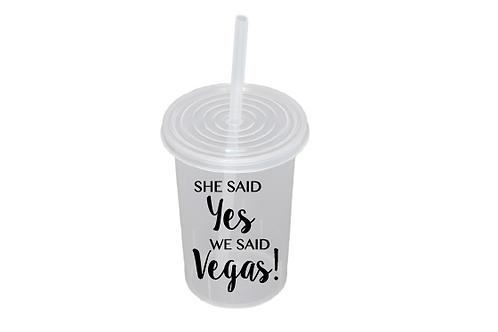 She said yes We said Vegas!