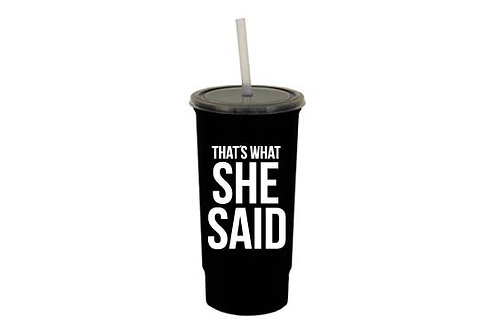 That's what she said